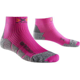 X-Socks Run Discovery - Calcetines Running Mujer - rosa